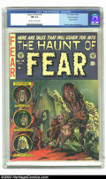 Golden Age (1938-1955):Horror, The Haunt of Fear #14 Gaines File pedigree 4/12 (EC, 1952) CGC NM9.4 Off-white to white pages. In the span of seven issues ...