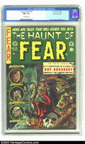 Golden Age (1938-1955):Horror, The Haunt of Fear #18 Gaines File pedigree Certificate Missing (EC,1953) CGC NM+ 9.6 Off-white pages. Graham Ingels' run of...