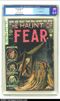 Golden Age (1938-1955):Horror, The Haunt of Fear #27 (EC, 1954) CGC VF- 7.5 Off-white to whitepages. Cannibalism story. Ingels cover. Kamen, Crandall, Eva...