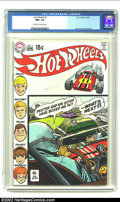 Bronze Age (1970-1979):Miscellaneous, Hot Wheels #1 (DC, 1970) CGC NM+ 9.6 Off-white to white pages. AlexToth cover and art. Here is an extremely tough issue to ...