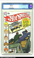 Bronze Age (1970-1979):Miscellaneous, Hot Wheels #3 (DC, 1970) CGC NM 9.4 Off-white to white pages. AlexToth artwork. Neal Adams cover. These are extremely diffi...