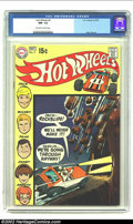Bronze Age (1970-1979):Miscellaneous, Hot Wheels #4 (DC, 1970) CGC NM- 9.2 Off-white to white pages. AlexToth artwork. Overstreet 2002 NM 9.4 value = $55....