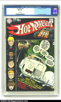 Bronze Age (1970-1979):Miscellaneous, Hot Wheels #5 (DC, 1970) CGC NM 9.4 White pages. Wow, a rare blackcovered book in Near Mint condition with perfectly white ...