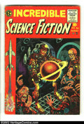 Golden Age (1938-1955):Science Fiction, Incredible Science Fiction Low Grade Group (EC, 1955) AverageCondition: GD. Issues #30-#33. Covers by Davis, except Wood on...