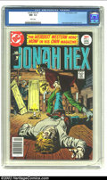 Bronze Age (1970-1979):Western, Jonah Hex #1 (DC, 1977) CGC NM- 9.2 White pages. Jose Garcia-Lopez cover and art. Overstreet 2002 NM 9.4 value = $100. ...