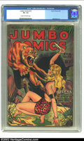 Golden Age (1938-1955):Adventure, Jumbo Comics #72 (Fiction House, 1945) CGC VG- 3.5 Cream to off-white pages. Matt Baker art with Joe Doolin cover. Overstree...