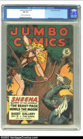 Golden Age (1938-1955):Adventure, Jumbo Comics #120 (Fiction House, 1949) CGC FN 6.0 Cream to off-white pages. Matt Baker and Jack Kamen art. Overstreet 2002 ...