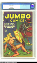 Golden Age (1938-1955):Adventure, Jumbo Comics #152 (Fiction House, 1951) CGC FN 6.0 Off-white pages. Whitman cover and Kamen art. Overstreet 2002 FN 6.0 valu...