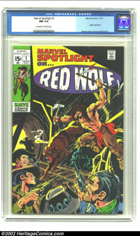 Marvel Spotlight #1 (Marvel, 1971) CGC NM 9.4 Off-white to white pages. Wally Wood, Neal Adams and Syd Shores art. Origi...