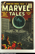Silver Age (1956-1969):Horror, Marvel Tales #152 (Marvel, 1956) Condition: FN-. Wally Wood andGray Morrow artwork. Overstreet 2002 FN 6.0 value = $60.F...