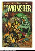 Golden Age (1938-1955):Horror, Monster #2 (Fiction House, 1953) Condition: GD+. Second (and last)issue of this interesting Fiction House title. Overstreet...