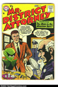 Silver Age (1956-1969):Mystery, Mr. District Attorney #63 (DC, 1958) Condition: VG-. SheldonMoldoff cover and art. First time we have offered a copy of thi...
