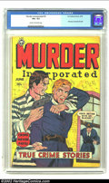 Golden Age (1938-1955):Romance, Murder Incorporated 5 (second series) (Fox Features Syndicate,1950) CGC VG+ 4.5 Cream to off-white pages. First issue of se...