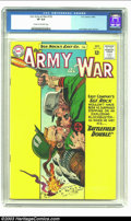 Silver Age (1956-1969):War, Our Army At War #135 (DC, 1963) CGC VF 8.0 Cream to off-white pages. Joe Kubert cover and art. Overstreet 2002 VF 8.0 value ...