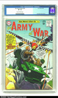 Our Army At War #140 (DC, 1964) CGC VF- 7.5 Cream to off-white pages. Third all-Sgt. Rock issue. Joe Kubert cover and ar...