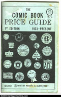 Memorabilia:Comic-Related, The Overstreet Price Guide #1 Second Printing (Gemstone, 1970) Condition: FN-. This is the blue softcover, second printing o...
