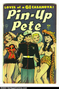 Golden Age (1938-1955):War, Pin-up Pete #1 (Toby Publishing, 1952) Condition: VG/FN. Pin-ups by Jack Sparling throughout. Overstreet 2002 GD 2.0 value =...