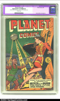 Golden Age (1938-1955):Science Fiction, Planet Comics #59 (Fiction House, 1949) CGC Apparent VF 8.0 Slight(P) Off-white pages. Joe Doolin cover with George Evans, ...