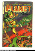 Golden Age (1938-1955):Science Fiction, Planet Comics #71 (Fiction House, 1953) Condition: VG-. Very cool,rare later issue. Overstreet 2002 GD 2.0 value = $39; FN ...