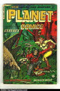 Golden Age (1938-1955):Science Fiction, Planet Comics #73 (Fiction House, 1953) Condition: GD/VG. Rare lastissue! These later issues are extremely cool, maybe even...