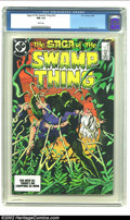 Modern Age (1980-Present):Horror, Saga of the Swamp Thing #23 (DC, 1984) CGC NM 9.4 White pages.Yeates cover. Bissette art. Overstreet 2002 NM 9.4 value = $1...