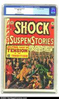 Golden Age (1938-1955):Horror, Shock SuspenStories #2 (EC, 1952) CGC FN+ 6.5 Off-white pages. Woodcover and art. Kamen, Davis, and Ingels art. Overstreet ...