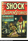 Golden Age (1938-1955):Horror, Shock SuspenStories #6 (EC, 1952) Condition: GD/VG. All-timeclassic Wally Wood cover. Overstreet 2002 GD 2.0 value = $36; F...