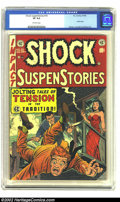 Golden Age (1938-1955):Horror, Shock SuspenStories #10 (EC, 1953) CGC VF 8.0 Off-white pages.Junkie story. Jack Kamen cover and art. Wally Wood, Reed Cran...