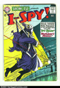 Silver Age (1956-1969):War, Showcase #50 I-Spy (DC, 1964) Condition: VF-. This is a beautiful high-grade copy with nice gloss and white pages. From an o...