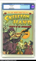 Golden Age (1938-1955):Horror, Skeleton Hand #1 (ACG, 1952) CGC VF 8.0 Cream to off-white pages.Super cool cover on the first issue of this Pre-Code class...