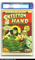 Golden Age (1938-1955):Horror, Skeleton Hand #2 (ACG, 1952) CGC NM- 9.2 Cream to off-white pages.This is the highest graded copy on CGC's census of this c...