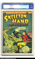 Golden Age (1938-1955):Horror, Skeleton Hand #3 (ACG, 1953) CGC FN+ 6.5 Cream to off-white pages.Overstreet 2002 FN 6.0 value = $81. From the collection...