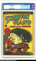 Golden Age (1938-1955):Horror, Skeleton Hand #4 (ACG, 1953) CGC FN+ 6.5 Cream to off-white pages.Beautiful Pre-Code horror. Overstreet 2002 FN 6.0 value =...
