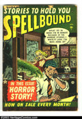 Golden Age (1938-1955):Horror, Spellbound lot (Atlas, 1954). #2 FR, #11 GD, #27 VG+ and #30 VG+.Overstreet 2002 value for group = $150. From the collect...(Total: 4 Comic Books Item)