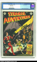 Golden Age (1938-1955):Science Fiction, Strange Adventures #18 (DC, 1952) CGC FN+ 6.5 Off-white to whitepages. Murphy Anderson, Carmine Infantino and Gil Kane art....
