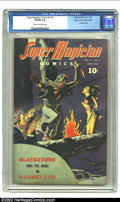 Golden Age (1938-1955):Horror, Super-Magician Comics Vol. 3 #2 Mile High pedigree (Street &Smith, 1944) CGC VG/FN 5.0 Cream to off-white pages. Great bond...