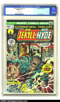 Bronze Age (1970-1979):Horror, Supernatural Thrillers #4 (Marvel, 1973) CGC VF/NM 9.0 Off-whitepages. Dr. Jekyll and Mr. Hyde. Overstreet 2002 NM 9.4 valu...