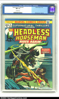 Bronze Age (1970-1979):Horror, Supernatural Thrillers #6 (Marvel, 1973) CGC NM- 9.2 Off-whitepages. The Headless Horseman. Overstreet 2002 NM 9.4 value = ...