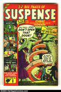 Bronze Age (1970-1979):Horror, Suspense #8 (Atlas, 1951) Condition: FN-. Really cool Atlas horrorcomic. Overstreet 2002 FN 6.0 value = $87. From the col...