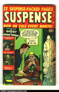 Golden Age (1938-1955):Horror, Suspense #21 (Atlas, 1952) Condition: VG. Really cool AtlasPre-Code horror comic. Overstreet 2002 GD 2.0 value = $22; FN 6....