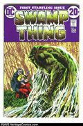 Bronze Age (1970-1979):Horror, Swamp Thing #1-10 Group Lot (DC, 1972) Average Condition = VF. Great group lot contains the first ten issues in the run. Inc... (Total: 10 Comic Books Item)