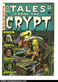 Golden Age (1938-1955):Horror, Tales From the Crypt #29 (EC, 1952) Condition: VG/FN. FantasticJack Davis cover. Overstreet 2002 GD 2.0 value = $41; FN 6.0...