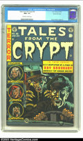 Golden Age (1938-1955):Horror, Tales From the Crypt #36 Gaines File pedigree 3/10 (EC, 1953) CGCNM+ 9.6 Off-white to white pages. This issue featured a Ra...