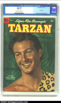 Golden Age (1938-1955):Miscellaneous, Tarzan #52 (Dell, 1954) CGC NM 9.4 Cream to off-white pages. Photo cover. Jesse Marsh and Russ Manning art. CGC's highest gr...