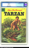 Silver Age (1956-1969):Miscellaneous, Tarzan #76 (Dell, 1956) CGC NM+ 9.6 Cream to off-white pages. JesseMarsh and Russ Manning art. CGC's highest grade for issu...