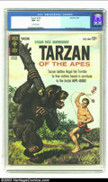 Silver Age (1956-1969):Adventure, Tarzan of the Apes #145 (Gold Key, 1964) CGC NM- 9.2 Off-white pages. Jesse Marsh and Russ Manning art. Only copy of issue t...