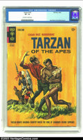 Silver Age (1956-1969):Adventure, Tarzan of the Apes #147 (Gold Key, 1964) CGC VF- 7.5 Off-white to white pages. Jesse Marsh and Russ Manning art. Only copy o...
