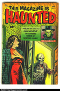 Golden Age (1938-1955):Horror, This Magazine Is Haunted #5 (Fawcett, 1952) Condition: FN. Thisbook is VF+, but it has browning on the edges. Overstreet 20...