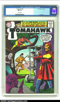 Tomahawk #96 (DC, 1965) CGC NM 9.4 Off-white pages. Fred Ray art. Origin and first appearance of the Hood (alias Lady Sh...