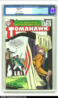 Tomahawk #97 (DC, 1965) CGC NM 9.4 Cream to off-white pages. Fred Ray art. Cool bulls eye cover. Overstreet 2002 NM 9.4...